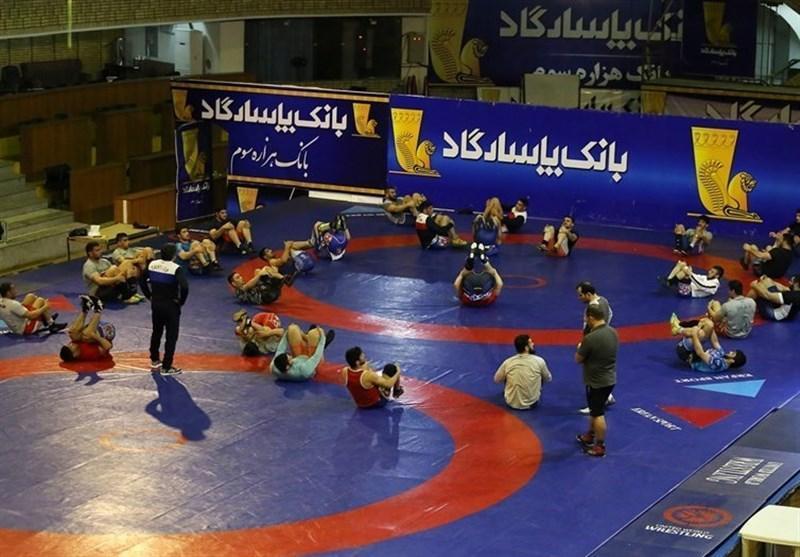 شروع تمرینات ملی پوشان کشتی ایران در سال جدید