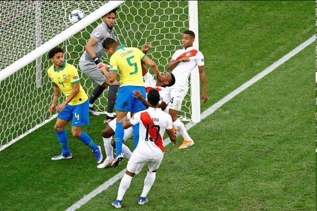 صعود برزیل با تحقیر پرو، ونزوئلا در یک چهارم نهایی کوپا آمه ریکا