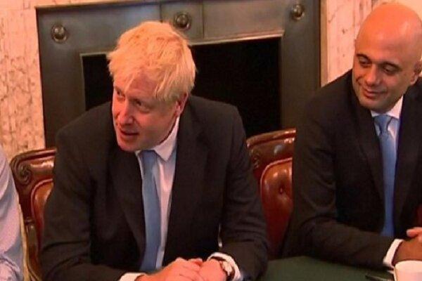 آنچه جانسون در اولین نشست کابینه انگلیس گفت
