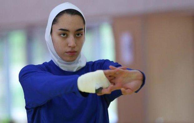 کیمیا علیزاده به نیمه نهایی صعود کرد، مدال برنز قطعی شد